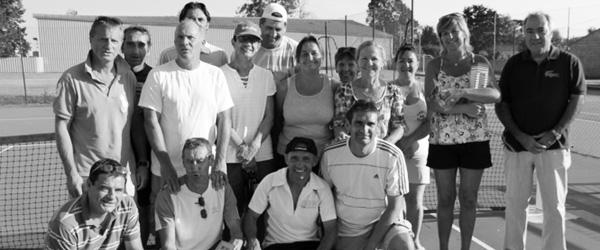 Le tournoi de tennis vétérans est terminé : la saison recommence !